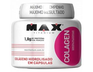 Colagen 500 - 100 Cápsulas - Max Titanium