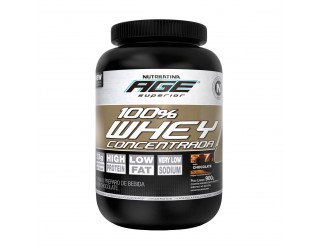 100% Whey Concentrada (900g) Nutrilatina Age