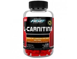 L-Carnitina - 120 Cápsulas - Nutrilatina Age