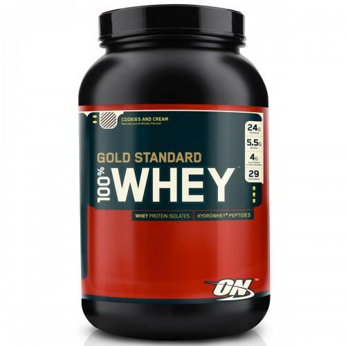 9ae6689bf Gold Standard 100% Whey - 2lbs (908g) - Optimum Nutrition