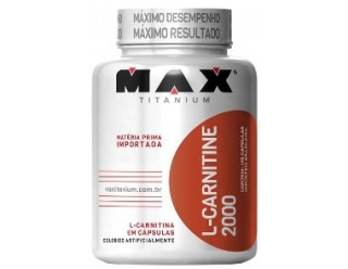L-Carnitine 2000 - 60 Cápsulas - Max Titanium