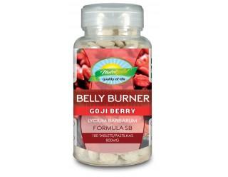 Belly Bunner - Goji Berry Formula SB  - 180 caps - NutriGold - Seca Barriga