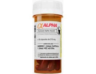Alpha Axcell Cafeína Mutante - 30 cápsulas de 560mg - Power Supplements