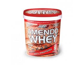 AmendoWhey Pasta de Amendoim - 400g - New Millen