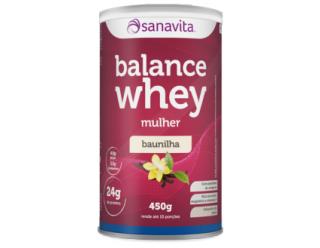 Balance Whey Mulher - 450g - Sanavita