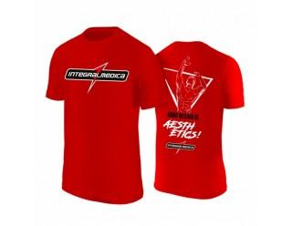 Camiseta Vermelha Masculina Dry Fit - Integralmédica