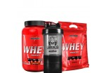 Combo Nutri Whey Protein 907g + Refil + Coqueteleira  Integralmédica