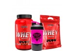Combo Nutri Whey Protein 907g + Refil + Coqueteleira Integralmédica - Feminino