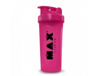 Coqueteleira Rosa - 700Ml - Max Titanium