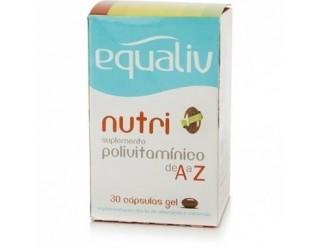 Nutri Polivitaminico - 30 capsulas - Equaliv