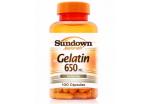 Gelatin 650mg - 100 Capsulas - Sundown Naturals