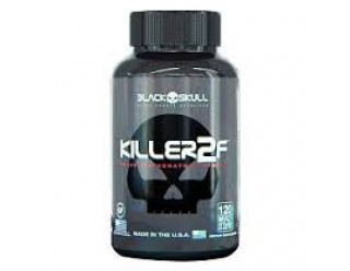 Killer 2F (Termogênico) - 120 caps - Black Skull