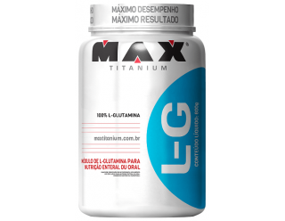 Glutamine Lg - Glutamina - 600 G - Max Titanium