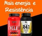 Mais energia e Resistência