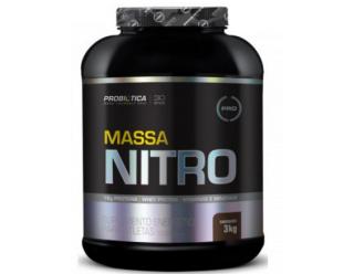 Massa Nitro  - 3kg - New Formula - Probiótica