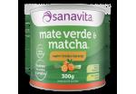 Mate Verde e Matcha - 300g - Sanavita