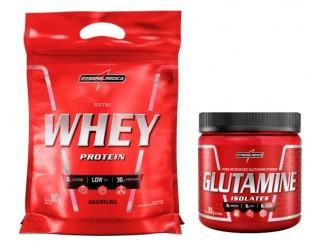 Combo Nutri Whey Refil + Glutamine - Integralmédica