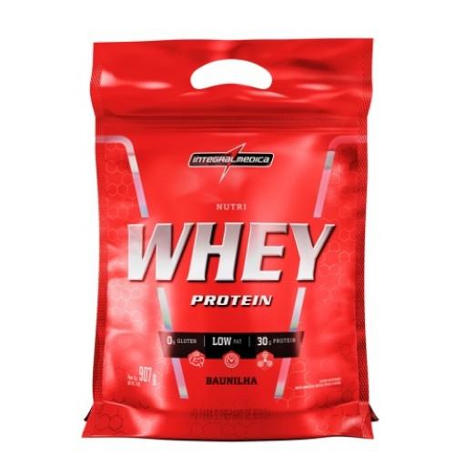 5c9e4a1ba Nutri Whey Protein - 907g - REFIL - Integralmédica