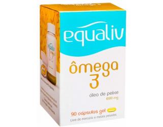 Ômega 3 - 120 cápsulas Gel - Equaliv
