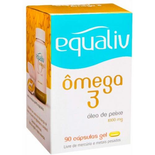 2006748d598 Ômega 3 - 90 cápsulas Gel - Equaliv