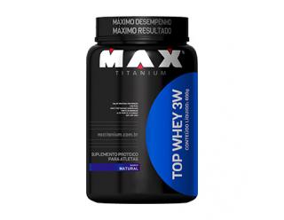 Top Whey 3W - 600g - Max Titanium