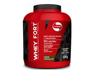 Whey Fort 100% Whey - 1,8Kg- Vitafor
