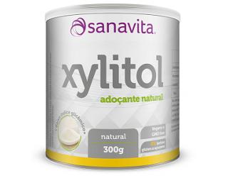 Xylitol - Adoçante - 300g - Sanavita