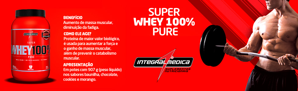 Whey Integralmédica