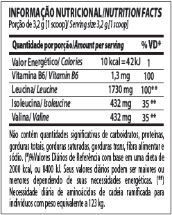 a487aef24 bcaa powder integralmedica tabela nutricional