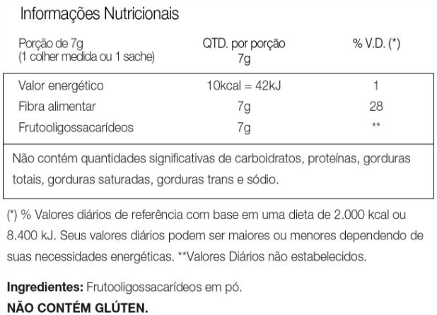 Fosvita Vitafor Tabela Nutricional